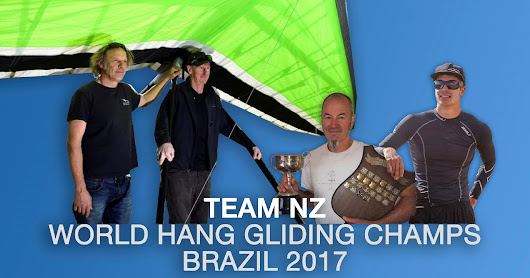 Team NZ World Hang Gliding Champs, Brazil 2017