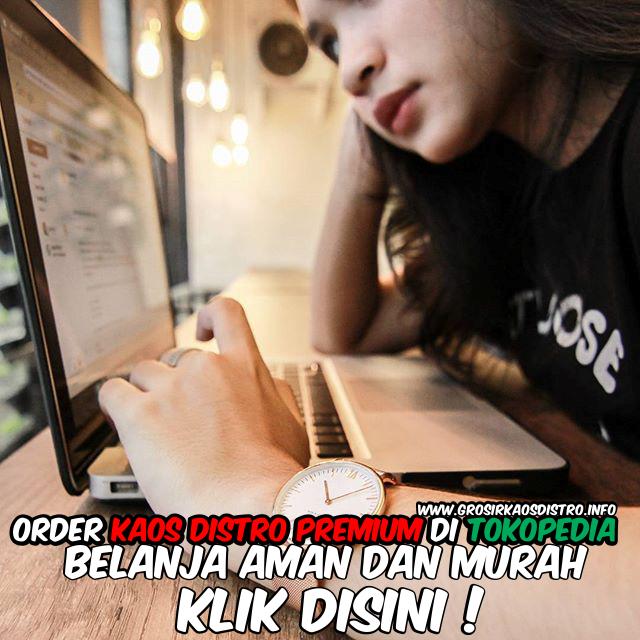 Jual Grosir Kaos Distro Premium di Tokopedia