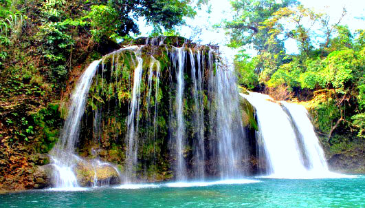 1. Bolinao Falls, Pangasinan
