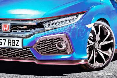 The New 2017 Honda Civic Type R horsepower 340bhp