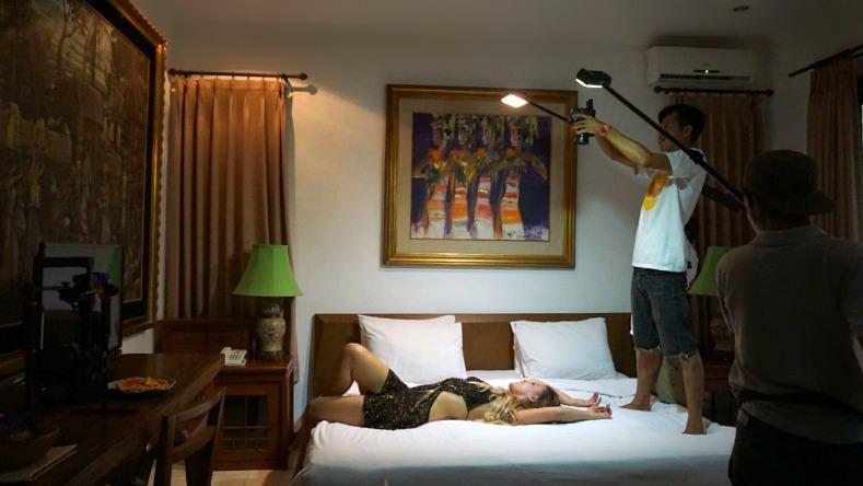 Tamara chloe, Music video shoot, Jerome walker, Imaji Balii, Aqua Octaviana Bali Villa,
