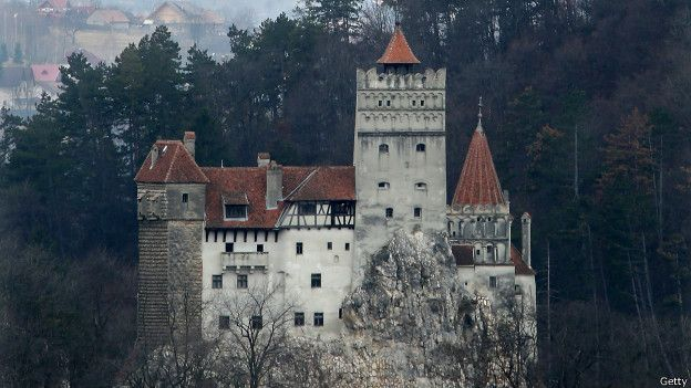Original castelo de Vlad o empalador (o original Drácula)