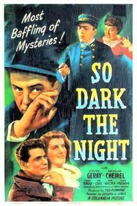Watch So Dark the Night Online Free in HD