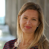 Simone Baumann-Pickering, bióloga marina de la Universidad de California en San Diego y coautora del estudio.