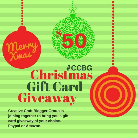 CCBG $50 Christmas Gift Card Giveaway