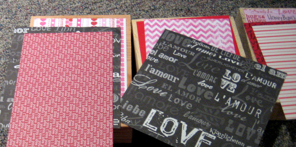 Measuring Scrapbook Paper