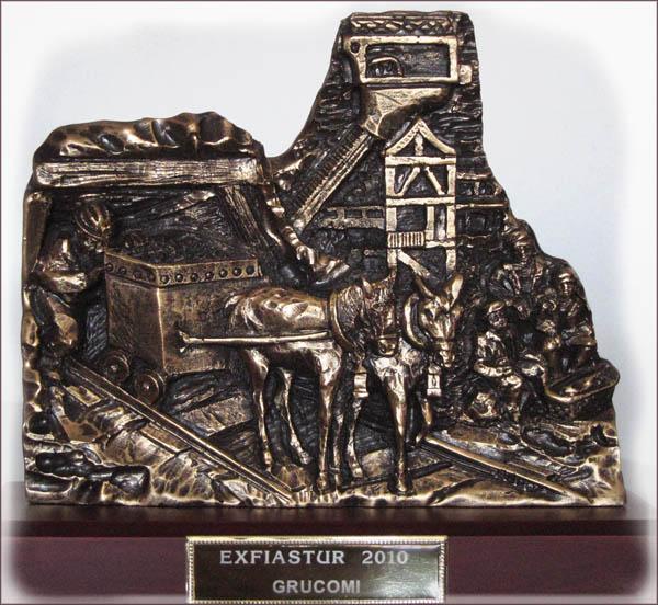 Trofeo de GRUCOMI para la EXFIASTUR 2010