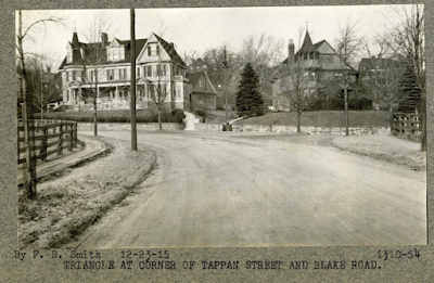 Blake Road and Tappan Street, 1915