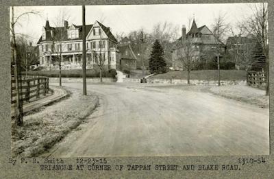 Blake Road and Tappan Street, 1915