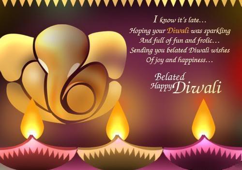 Happy Diwali in Advance SMS