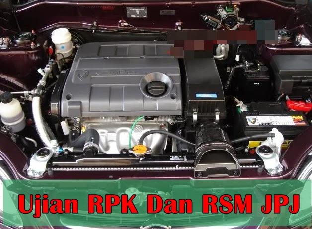 Ujian RPK Dan RSM JPJ – Nota Ringkas QTI JPJ