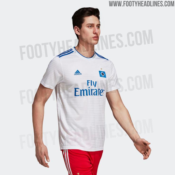 Adidas Hamburg 18-19 Home Kit Released - Footy Headlines