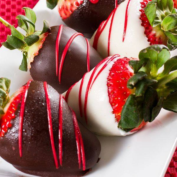 Chocolate covered strawberries #8