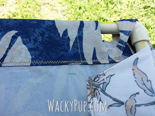 Fully Adjustable, Removable Camper Awning Tutorial by WackyPup! Amazing