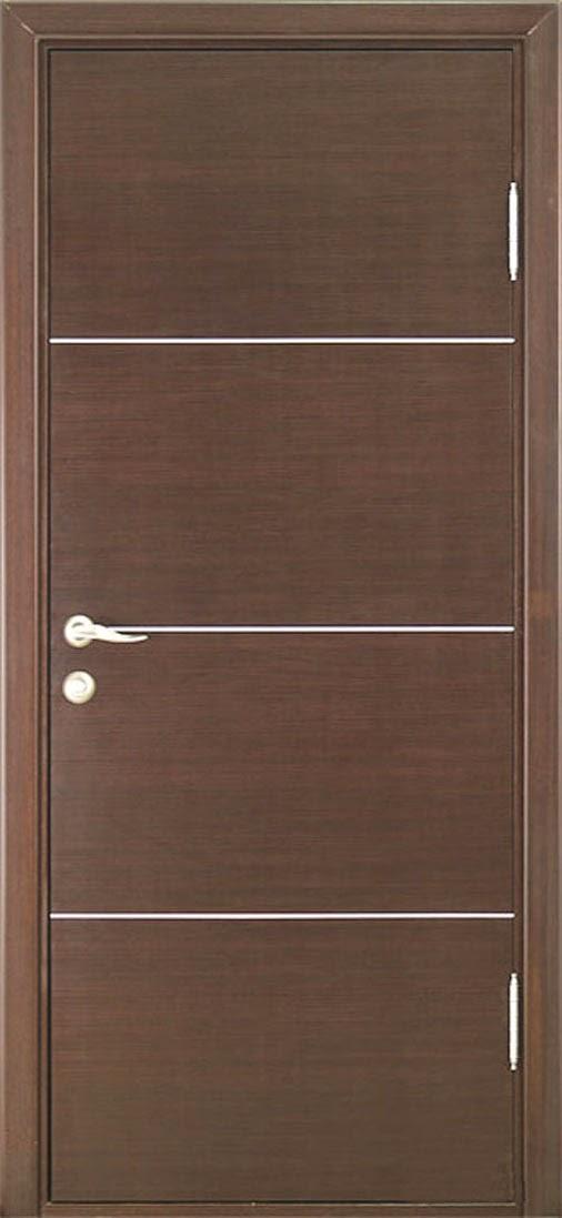 Pintu kayu Dengan Model Minimalis