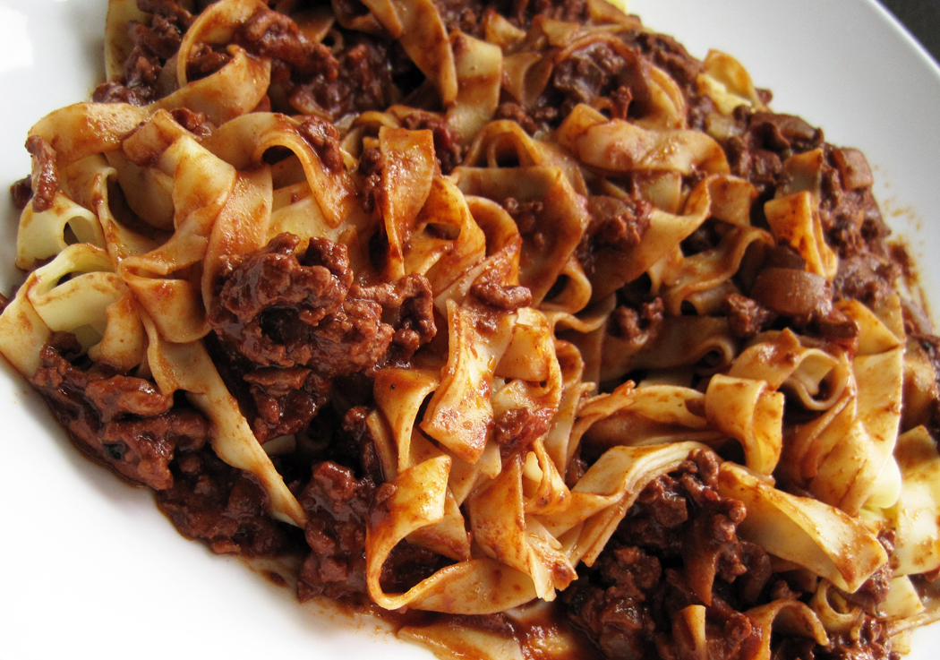 Sicilian Pork Ragu with Chocolate