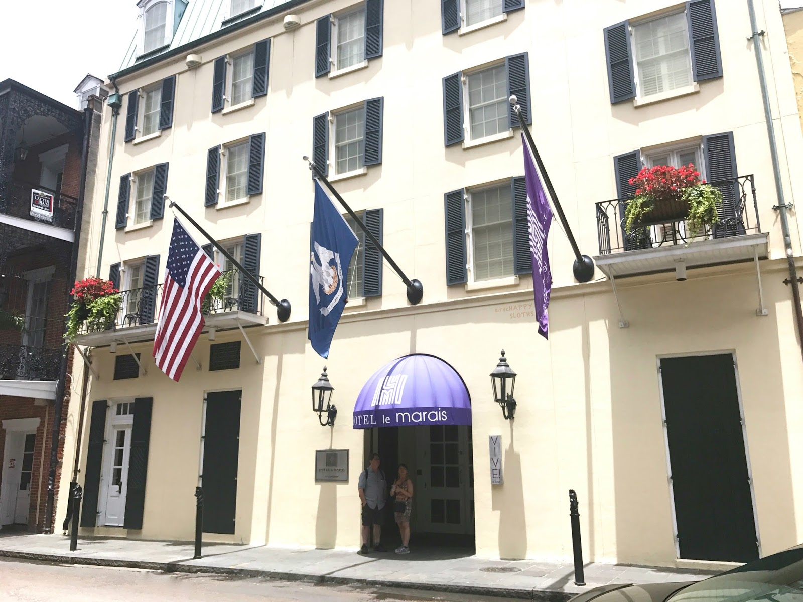 Hotel Le Marais New Orleans Review | Exterior