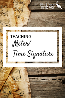 Teaching Meter/ Time Signature: Great ideas for teaching meter in your music classroom!
