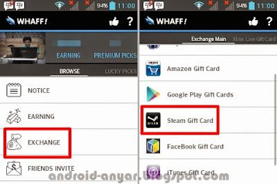Trik dapat gratisan Steam Wallet Gift Card Terbaru Resmi