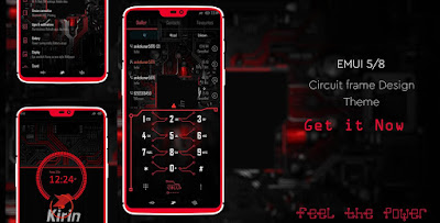 Circuit Theme for Emui 4.0/4.1 / 5.0/5.10 / 8.0/8.1