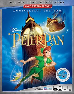 Peter Pan 1953 Blu Ray Signature Collection