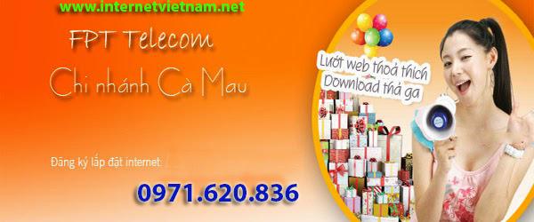 Đăng Ký Internet FPT Thị Trấn Cái Nước, Cà Mau