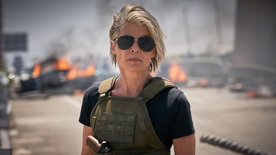 Terminator: Dark Fate, Sarah Connor, 8K, #3