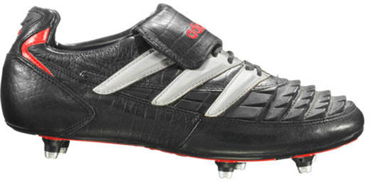 The second generation of the Adidas Predator football boot was the  first-ever Predator to feature a fold-over tongue and also the first  Predator to be ... e7568fc36