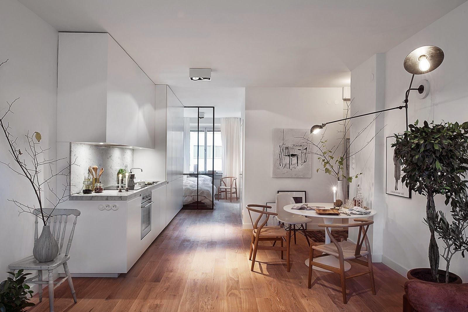 piccoli spazi una casa in bianco coffee break the