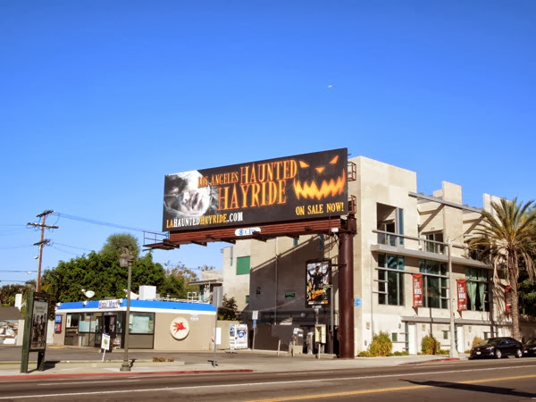Los Angeles Haunted Hayride billboard
