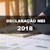 A Declaração Anual do MEI 2018 já está liberada