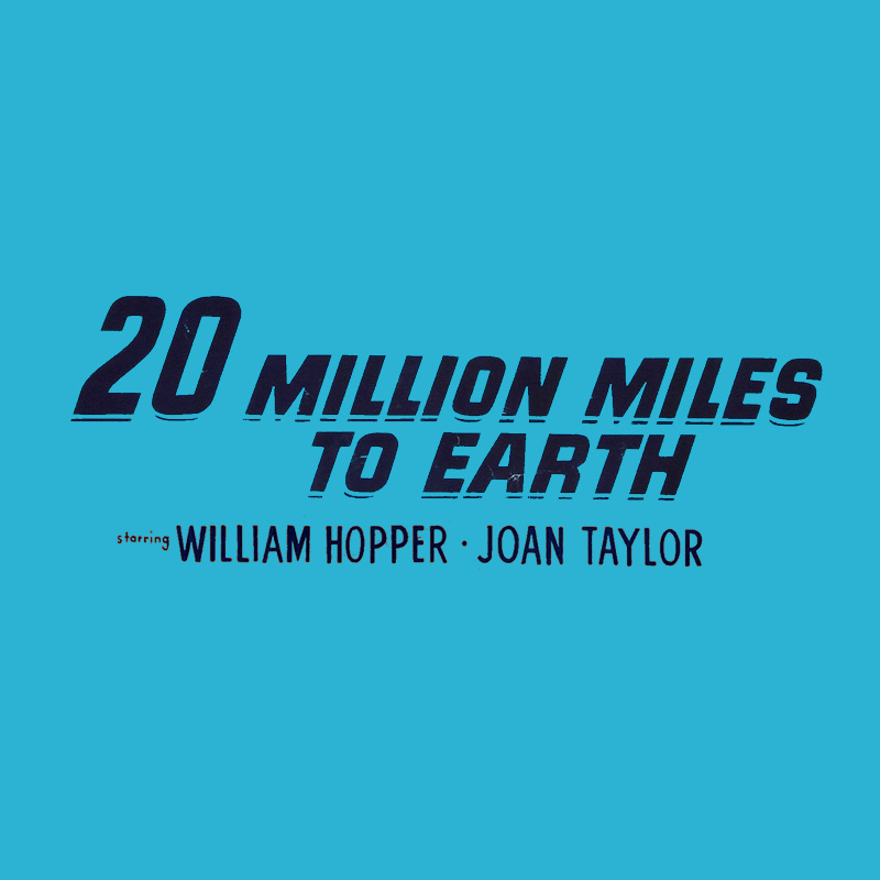 Amazing Movie Posters20 Million Miles to Earth (1957)