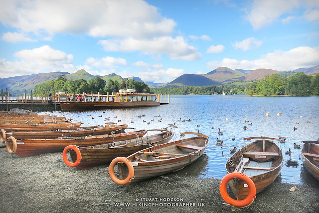 Derwent Water Keswick walk boats