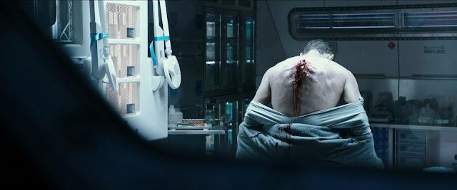 Escena de la enfermería en Alien Covenant