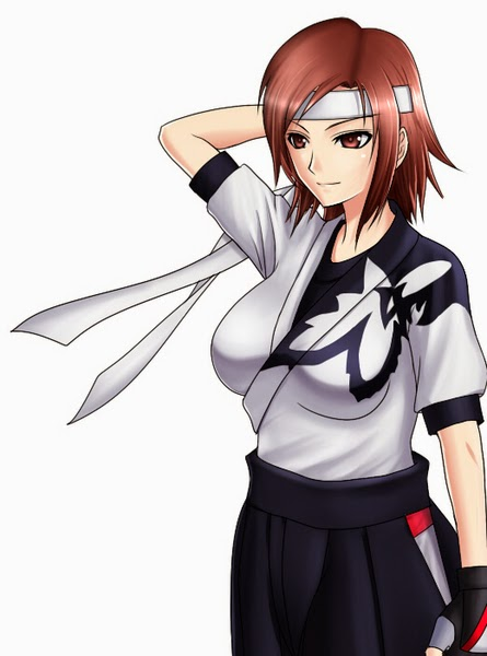Asuka Kazama image in Martial Arts Uniform