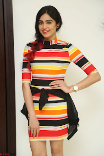 Adha Sharma in a Cute Colorful Jumpsuit Styled By Manasi Aggarwal Promoting movie Commando 2 (188).JPG