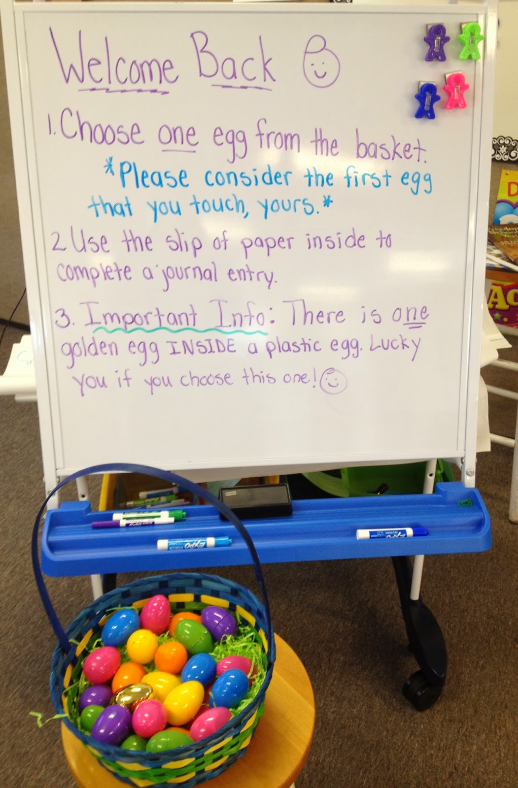 In 5th Grade With Teacher Julia Egg Cellent Review Basket A Fun Way To Incorporate A Review