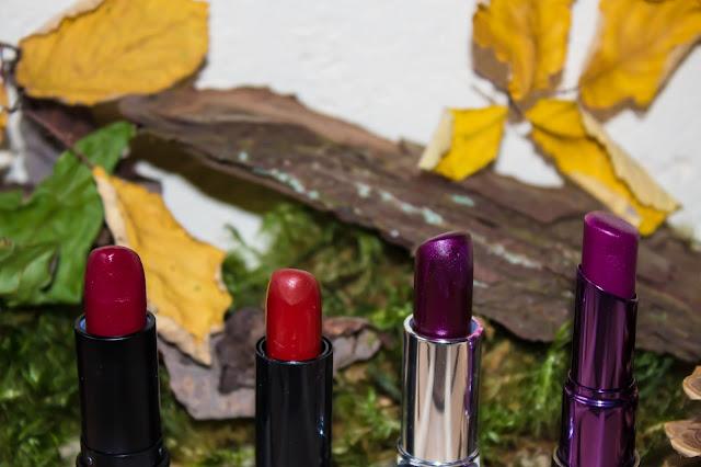 Ma sélection de rouges à lèvres pour l'Automne :)
