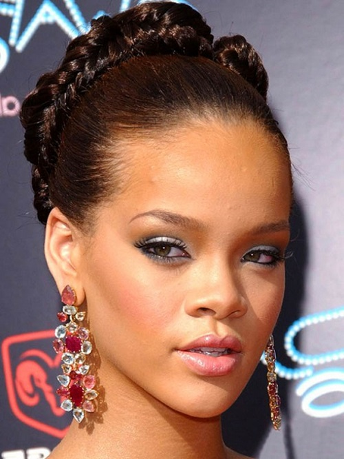 Bun Hairstyles for African American Women for Prom and