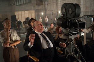 Anthony Hopkins as Hitchcock on the set of Psycho - Hitchcock (2012)