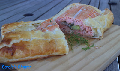 Carole's Chatter: Salmon Wellington