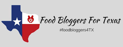 food bloggers for Texas graphic