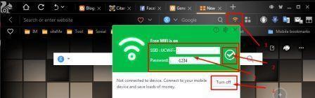 Wifi Aktif Hanya dengan Modem GSM/CDMA