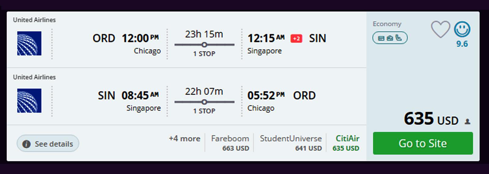 Chicago to singapore earn 19892 pqms 635 same dayturnaround click on image to enlarge 1betcityfo Image collections