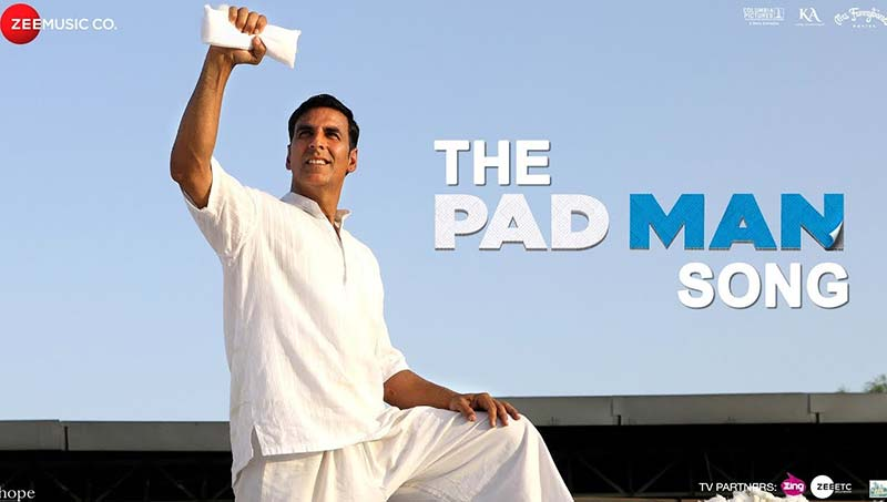 Padman 2018 720p Hindi HDRip x264 Movie Poster