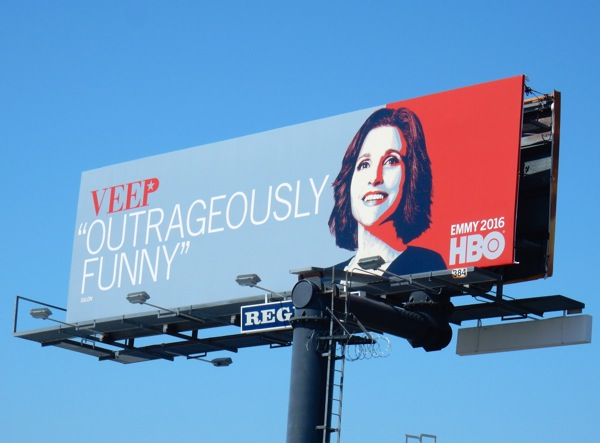 Veep season 5 HBO Emmy 2016 FYC billboard