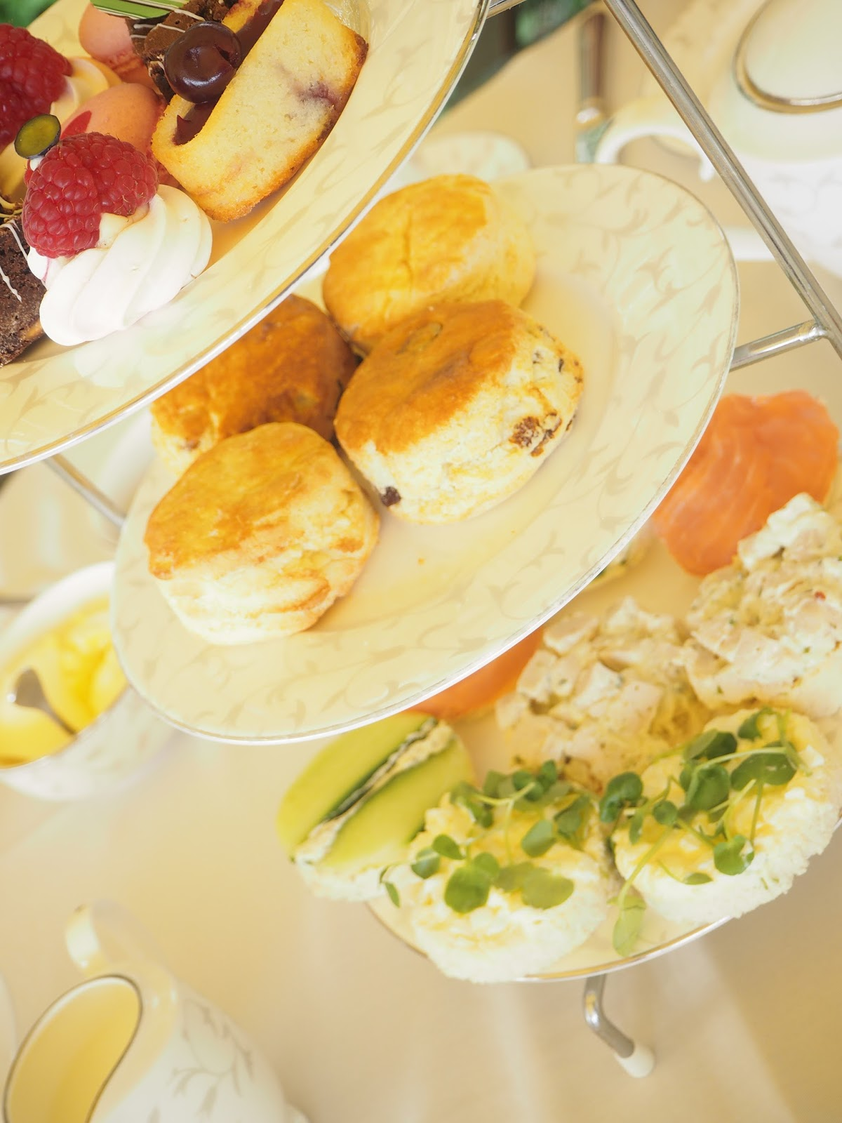 Afternoon tea review at South Lodge in Horsham - gluten free tea