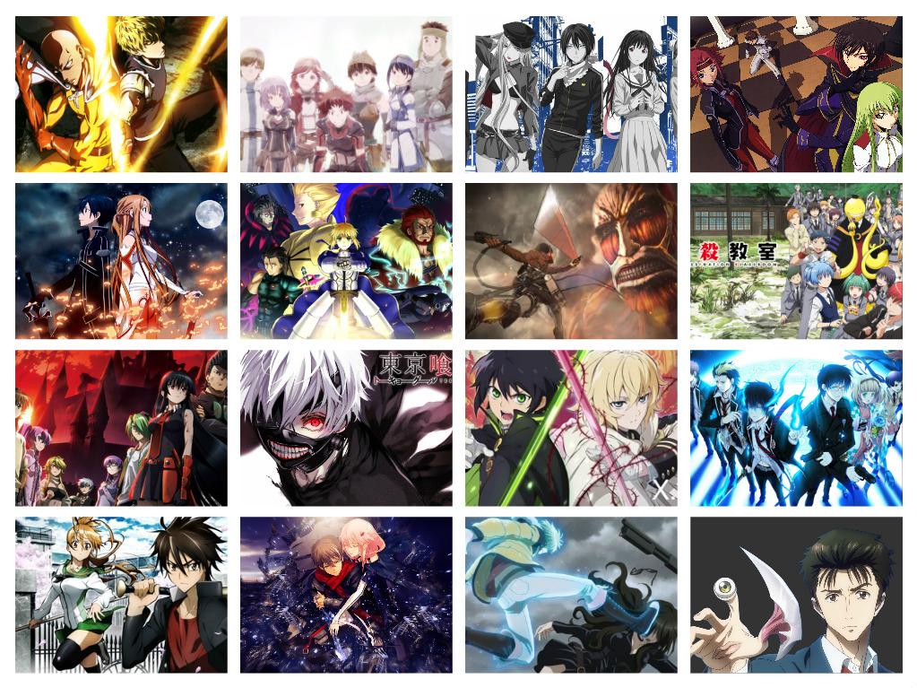 22 Anime Action Terbaik Menurut Stalker Otaku