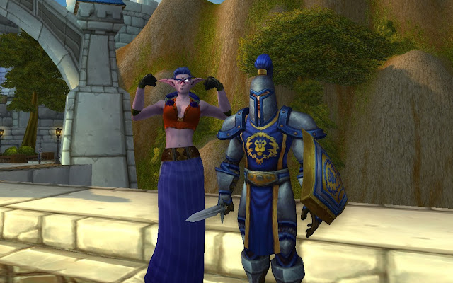 World of Warcraft, screenshot, Alliance