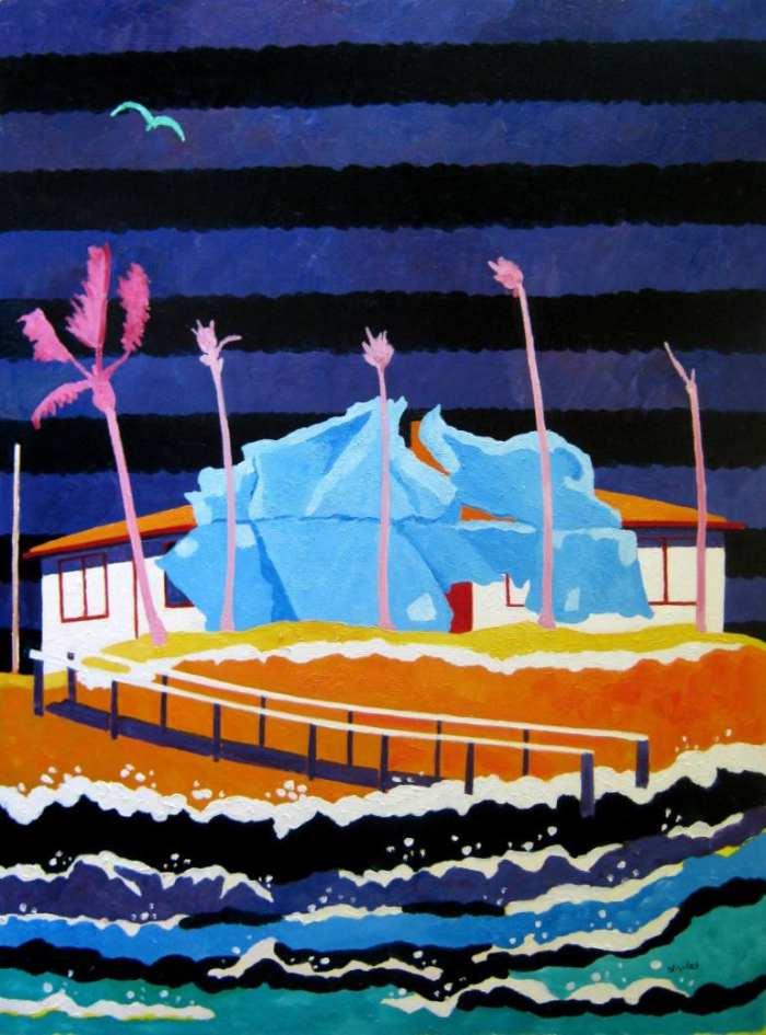 Архитектурные пейзажи. Lesley Giles